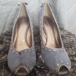 Womens New Unisa Size 8 Blue Suede Heels